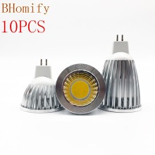New Led Cob Spotligh High Power Lampada Led MR16 GU5.3 COB 6w 9w 12w Dimmable Warm Cool White MR16DC12V Bulb Lamp GU5.3AC220V цена 2017