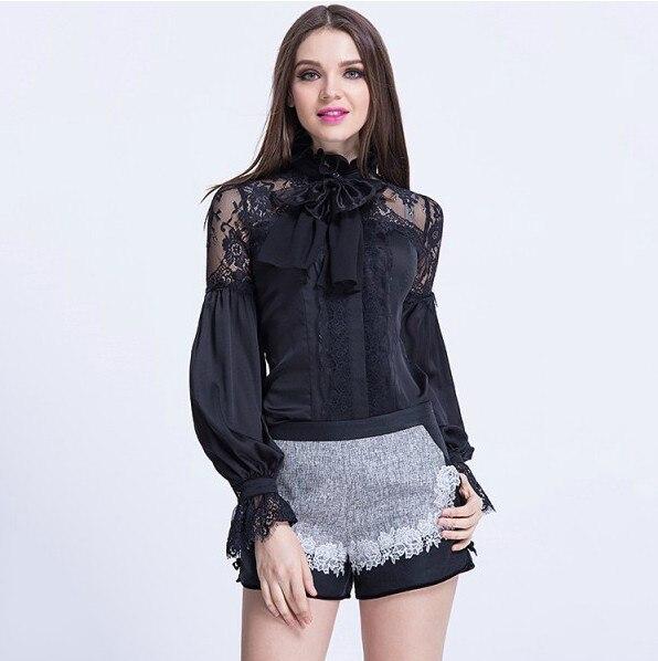 Nueva Venta Caliente 2017 Blusas Primavera Verano Señoras de Las Mujeres Del Arc