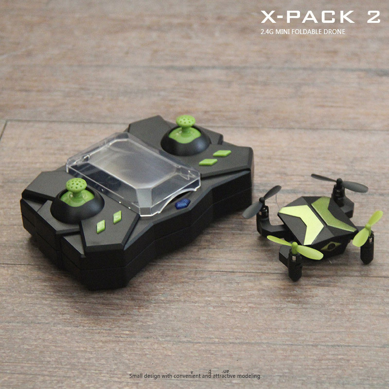 NEW WIFI realtime RC Drone XT 2 2.4G mini foldable remote control drone APP control headless mode free flight drone toy kid gift