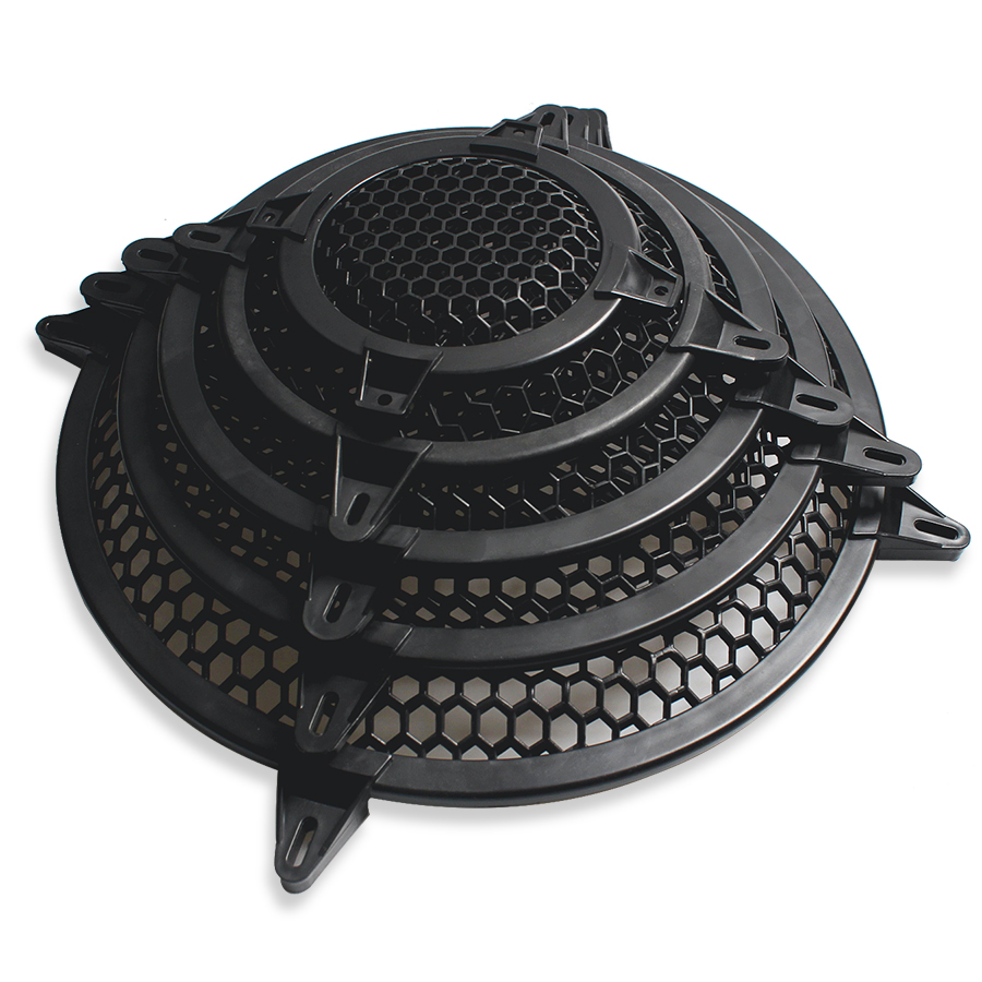 4/6/8/10/12 INCH Plastic Frame Stage Sound Speaker Mesh Protection Enclosure Net Cover Speakers Accessories