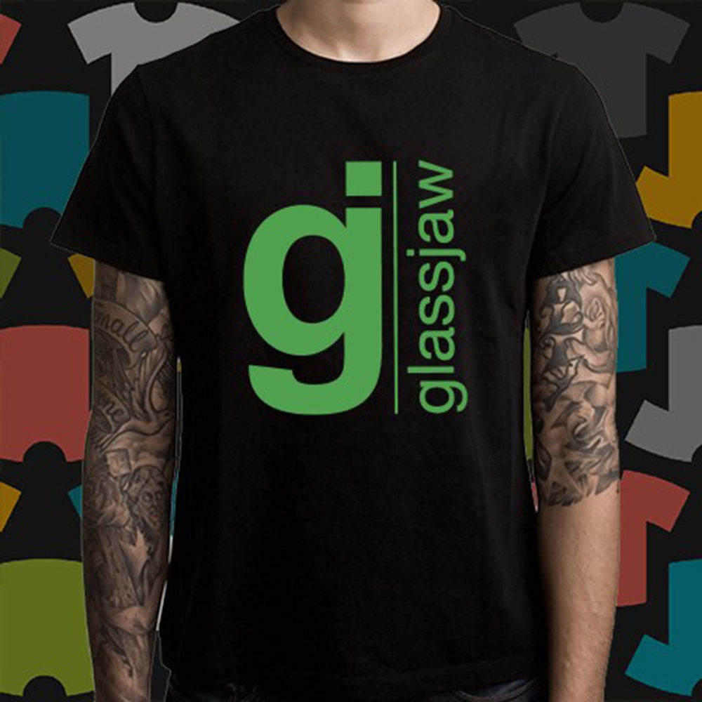 dd1e45e0c New Glassjaw Hard Rock Band Logo Men s Black T-Shirt Size S to 3XL Summer