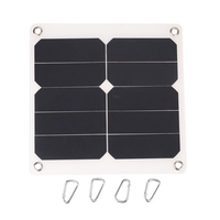 2A 10W 5V Solar Panel External Mobile Phone Battery Charger with USB Port for phone charging
