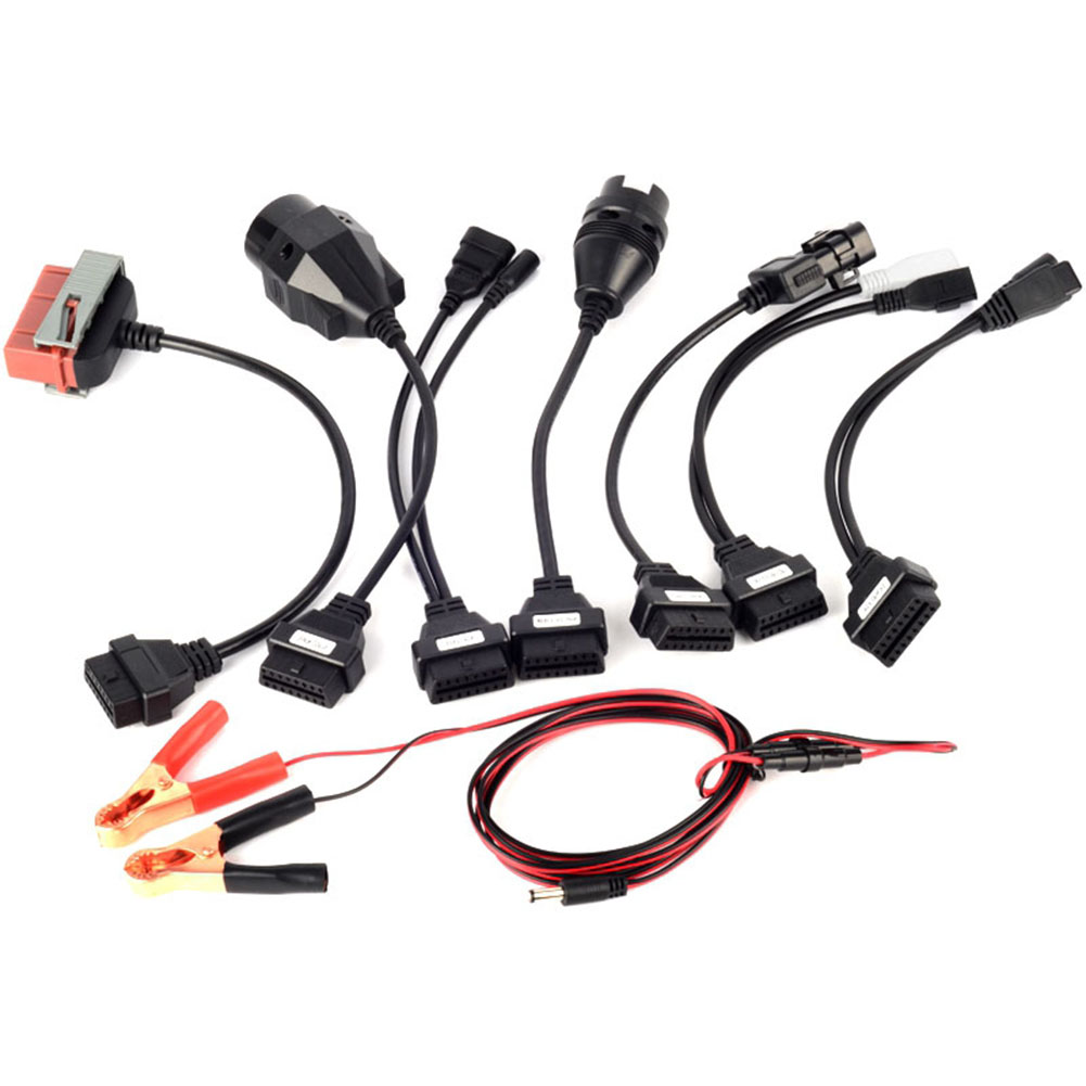 Câbles et connecteurs de Diagnostic de voiture | Pour Autocom Ds Cdp Tcs 150 150e ligne dadaptation de Diagnostic, ligne dadaptation pour voiture 8 pièces