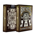 1 Cubierta Ámbar Stag Club 808 Cubierta De Bicicleta Naipes de Póquer tamaño USPCC Limitada Edición Nuevo Sellado Apoyos Mágicos Trucos de Magia 81277
