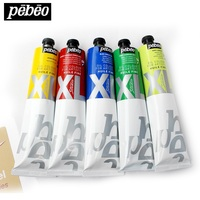 Pebeo Studio XL S1 200ml Oil Paints Professional Painting High capacity Student Art Pigments Leather Pigment
