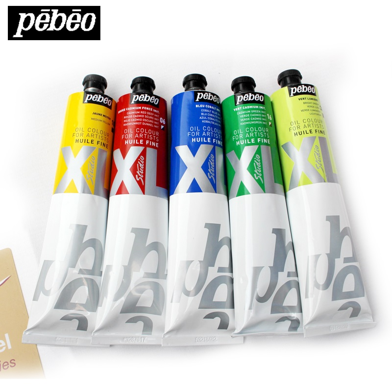 pebeo xl yağlı boya - Pebeo Studio XL S1 200ml Oil Paints Professional Painting High-capacity Student Art Pigments Leather Pigment