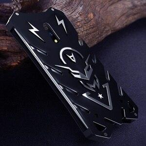 Image 4 - OPPO Realme X funda de Metal para OPPO A9 K3 funda potente a prueba de golpes para OPPO Realme X Zimon resistente protección armadura coque