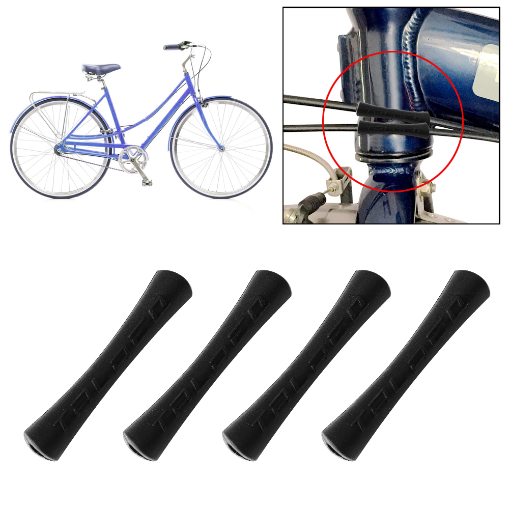 Rubber Cycling Bike Shift Brake Bicycle Cable Protector Line Pipe Sleeve