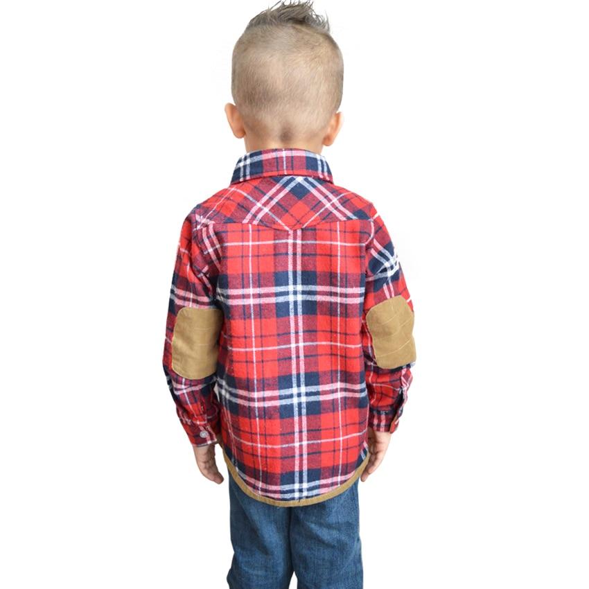 Seartist Baby Boys Qızlar İngilis Pilli Qollu Köynək Uşaqlar - Uşaq geyimləri - Fotoqrafiya 3