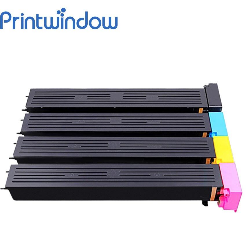 Printwindow Compatible Toner Cartridge for Konica Minolta Bizhub Pro C5501/C6501/C6501P 4X/Set toner laserjet printer laser cartridge for minolta bizhub c5501 c6501 c 5501 6501 tn612 kcmy 37 5k 25k free fedex
