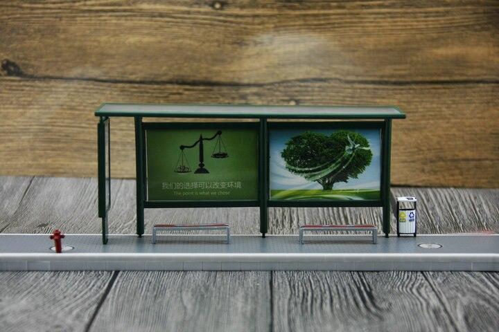 ser combinado com o modelo da cena da mostra do ônibus 1:431:42