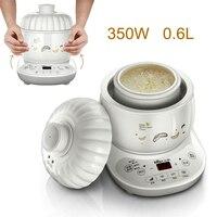 15% JA4 Mini Elektrische Langsam Herde Keramik Weißware Brei Suppe Dünsten Maschine 9 5 H Timing mit LED Touch Panel-in Schongarer aus Haushaltsgeräte bei