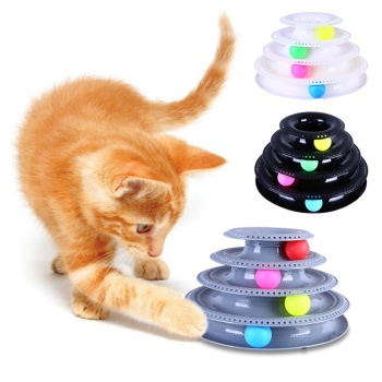 4-Layer 3 Colorful Balls Entertainment Disc
