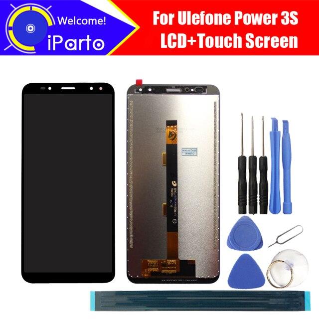 6.0 Inch Ulefone Power 3S Màn Hình Hiển Thị LCD + Tặng Bộ Số Hóa Cảm Ứng 100% Nguyên Bản Mới Màn Hình LCD + Cảm Ứng Bộ Số Hóa cho Công Suất 3S + Dụng Cụ
