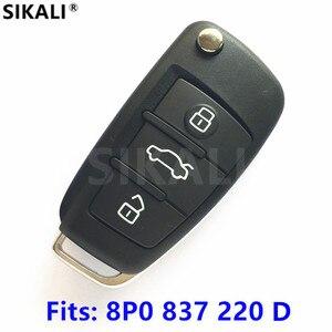 Image 1 - SIKALI Car Remote Key for Audi A3 S3 A4 S4 TT 434MHz 8P0837220D 8P0 837 220 D 220D 2005 2006 2007 2008 2009 2010 2011 2012 2013