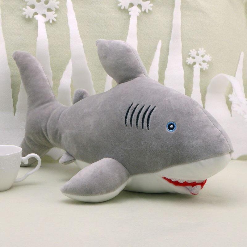 Plush Toy Big Great White Shark Jaws Stuffed Animal Toy