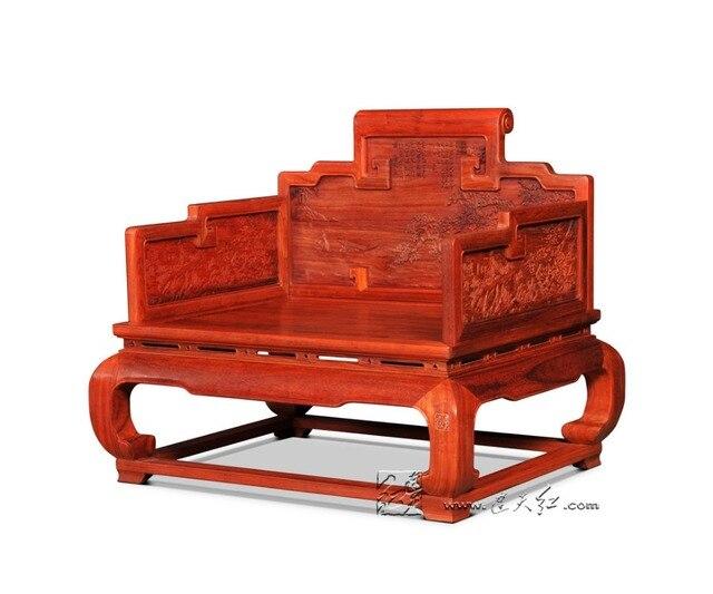 Rode Stoelen Fauteuils.Nieuwe Moderne Chinese Klassieke Troon Palissander Leisure Backed