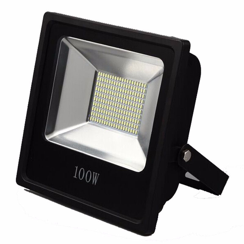 Ultrathin LED Flood Light 200W 150W 100W 60W 30W 15W LED Floodlight IP65 Waterproof 220V 110V LED Spotlight Outdoor Lighting ultrathin led flood light 100w led floodlight ip65 waterproof ac85v 265v warm cold white led spotlight outdoor lighting