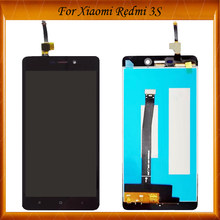 100% Working Well For Xiaomi Redmi 3S LCD Display+Touch Screen Digitizer Assembly Replacement For Xiaomi Redmi 3S 3x 3 pro LCD(China)
