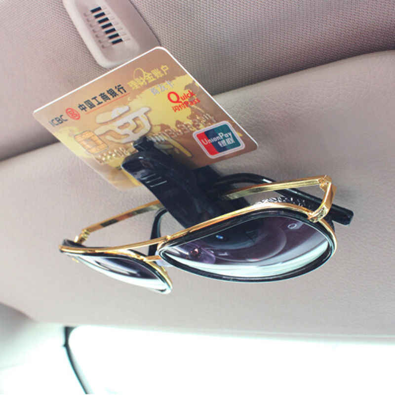 Car Auto Sun Visor Glasses Sunglasses Clip for Peugeot 206 207 301 307 308 407 408 508 2008 3008 4008 tesla model 3