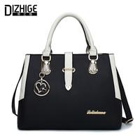 DIZHIGE Роскошные брендовые Сумки Для женщин дизайнер сумки на ремне Для женщин Высокое качество PU кожаные женские сумки новый Sac Femme 2018