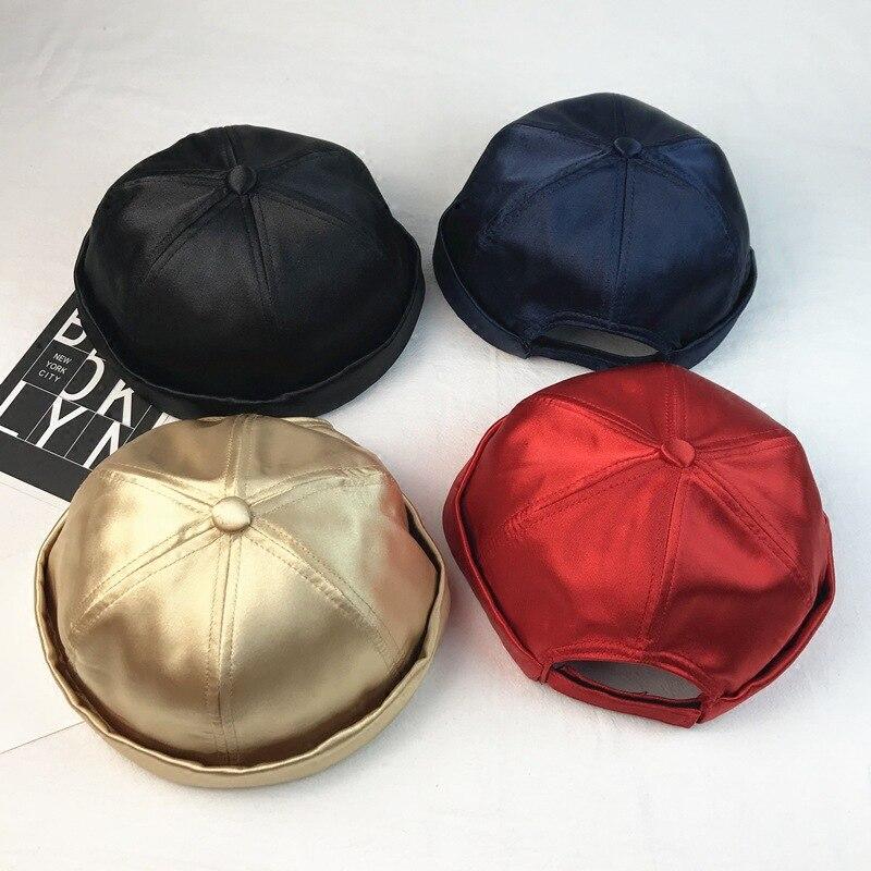 Skullies Beanies Hat for Woman Winter Hat Women Warm Skullcap Women Skullcap Pumpkin Hat Fashion Sailor Cap Skullcap Brimless