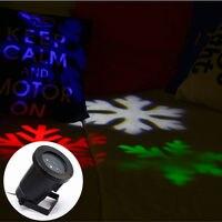 クリスマスライトled屋外防水投影カラフルな雪の結晶ランプ挿入グラウンド芝生ランプガーデン装飾ラン