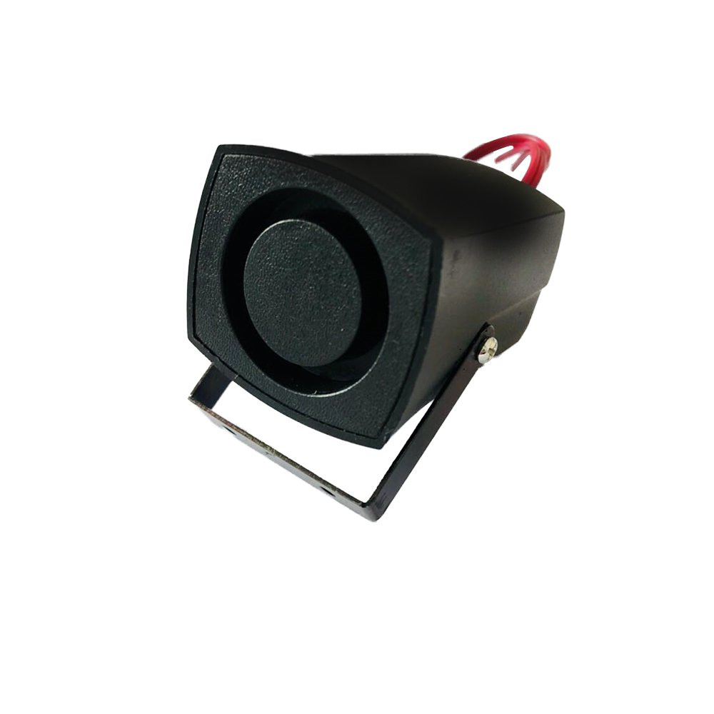 Nieuwe 12V Luchthoorn Auto Vrachtwagen Voertuig Omkeren Sound Speaker Buzzer Alarm Hoorn Sirene Waarschuwen Pieper Past Voor Verschillende voertuigen