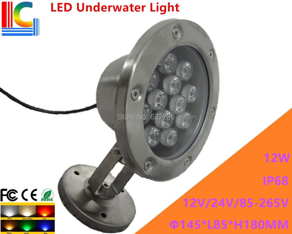 Led Lamps Led Underwater Lights 12w Led Underwater Light 12v 110v 220v Rotary Underwater Floodlight Ip68 Waterproof Outdoor Spotlight Pond Lamp 2pcs/lot Smoothing Circulation And Stopping Pains