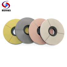 RIJILEI 8inch Diamond Resin Bond Grinding Abrasive Disc For Granite Slab 200mm Discs for Marble Polishing