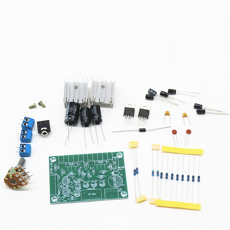 DC12V TDA2030 15 W + 15 W sans bruit double canal 2 canal arrière pur amplificateur de puissance stade conseil électronique DIY Kit TDA2030A