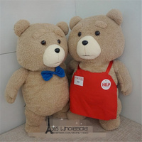 Free shipping One Piece Retail Ted Man Teddy Bears Plush Toys 2 styles stuffed soft Dolls kids birthday christmas gifts