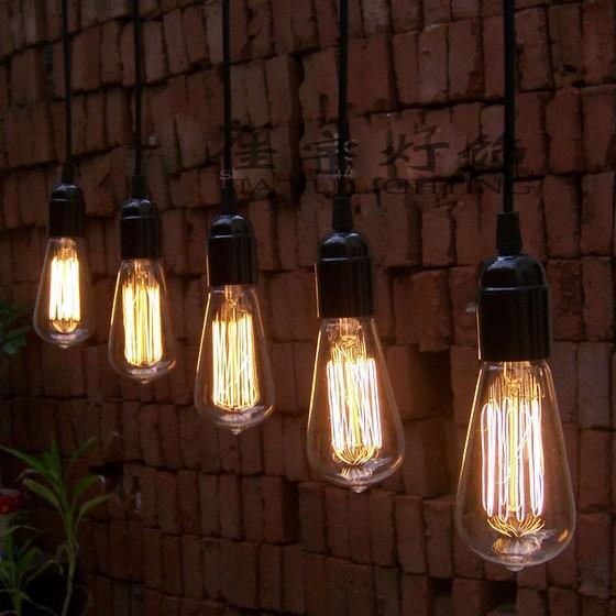 Vintage Edison Lamp Hanglamp lamp kroonluchters hanger