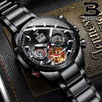 BINGER Watch Men Switzerland Automatic Mechanical Watches Mens Top Brand Luxury Military Clock Relogio Masculino Montre Homme