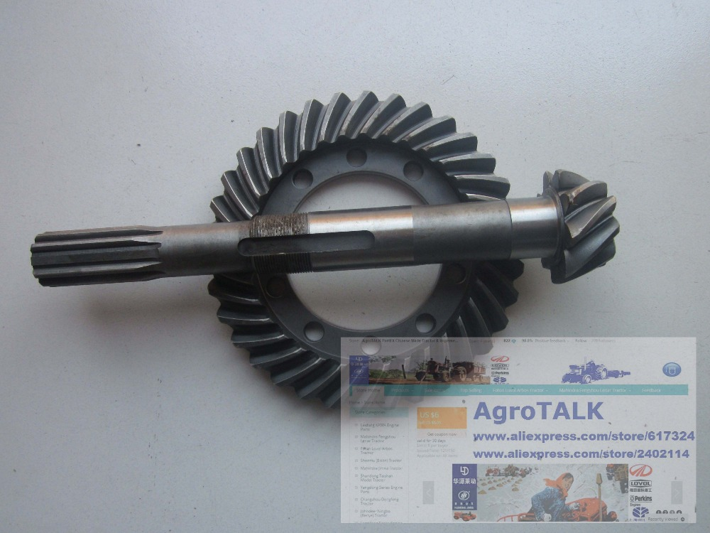 Dongfeng RM250 DF254 , the spiral crown gear & shank-type spiral bevel pinion, part number: 250.38.118A стоимость