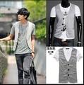 Male knitted vest fashion men casual blazer vests
