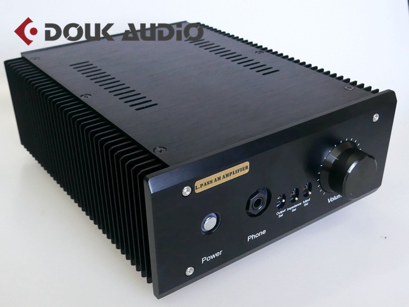 Douk Audio Pass Am HiFi Class A Power Amplifier Stereo Headphone Amp Desktop Audio 20W*2 douk audio pure handmade mini 6p3p vacuum tube amplifier 2 0 channel stereo hifi class a power amp 5w 2