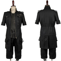 Original Anime Final Fantasy XV Cosplay FF15 Noctis Lucis Caelum Cosplay Costume Outfit Coat Jacket Only Suit Halloween Carnival