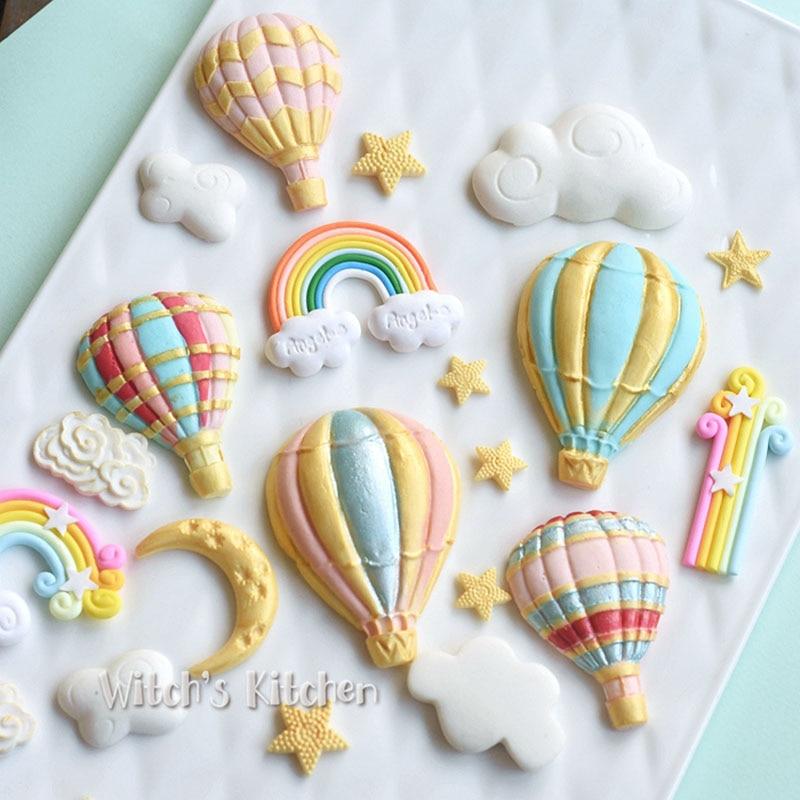 Yueyue Sugarcraft Balloon Silicone Mold Fondant Mold Cake Decorating Tools Chocolate Gumpaste Mold
