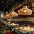 Американский Лофт стиль Droplight креативная веревка Подвесные светильники для столовой подвесной светильник промышленное винтажное освещени...