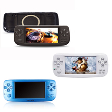 2PCS 4.3 inch 64Bit PAP K3 Built-in 1300 no-repeat game Handheld Video Game Console for NEOGOECPSGBAGBCGBSFCFCMDGG etc