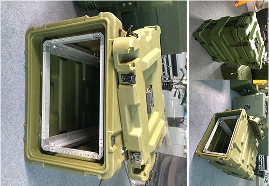Tricases factory ODM/OEM high impact shockproof military 19 inches rack cases RU040 tricases factory oem odm waterproof hard plastic case profession trolley tool cases m2360