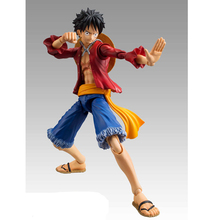 купить 17CM One Piece Luffy Anime Action Figure PVC New Collection figures toys Collection for Christmas gift по цене 1195.81 рублей