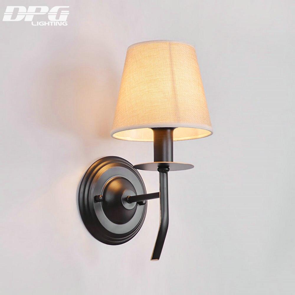 Industrial Wall Light Bedroom: Led Modern Loft Industrial Wall Light Lamp For Home