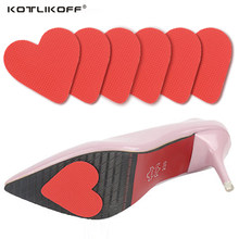 7daa68b5861 2017 Hot Sale Love shape 3 Pairs Women Rubber Anti-Slip Shoes Heel Sole Grip