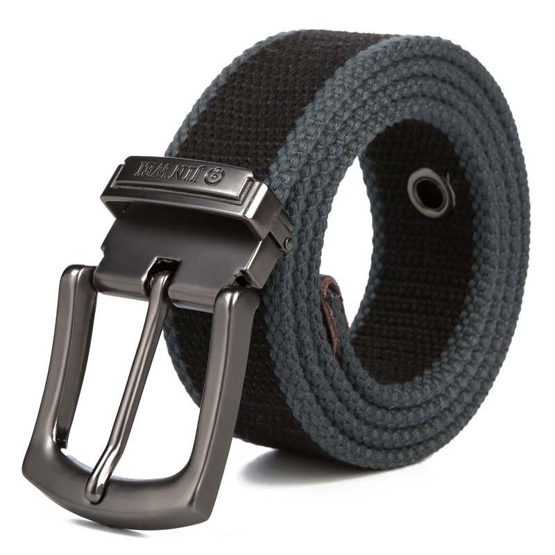 Modis Ceinture Homme Men Belt Harajuku Canvas Belts Elastische Riem Jeans Male Casual kemer Detachable Buckle Straps Waist