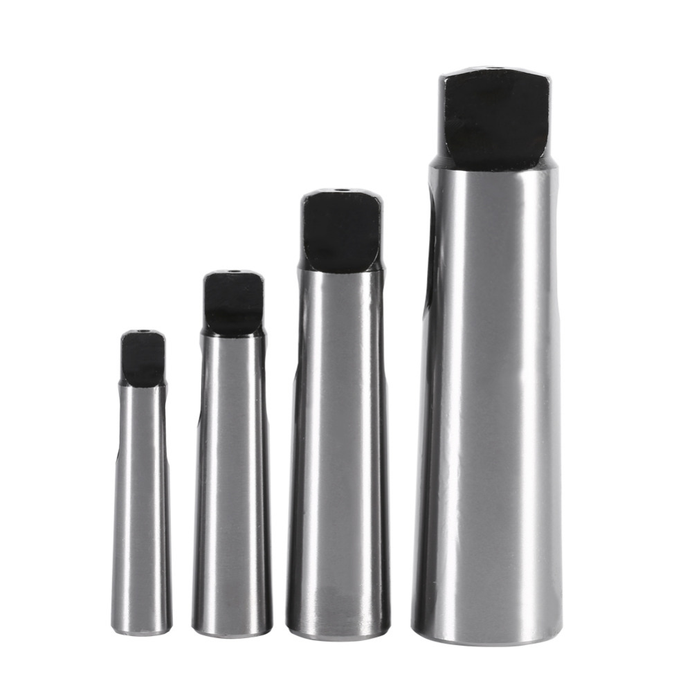цена на 4PCS/SET MT1-4 to MT2-5 Taper Reducing Reduction Adapter Drill Sleeve for Lathe Milling Tool Set For Milling Machine