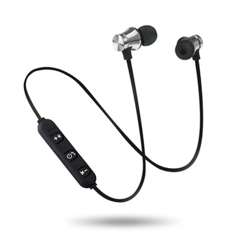 Sport Bluetooth Earphone Earphone Wireless Bluetooth Headphone For Xiaomi for iPhone for Stereo Headset Earpiece Neck headset magnetic attraction bluetooth earphone headset waterproof sports 4.2