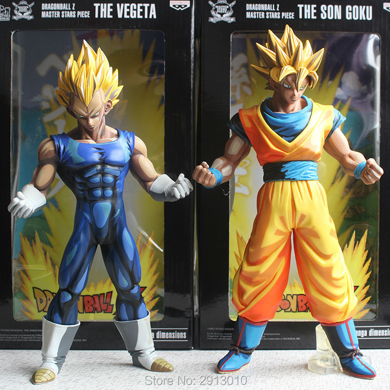 DragonBall Z Master Stars Piece The Vegeta Manga Dimensions Figure In Box New