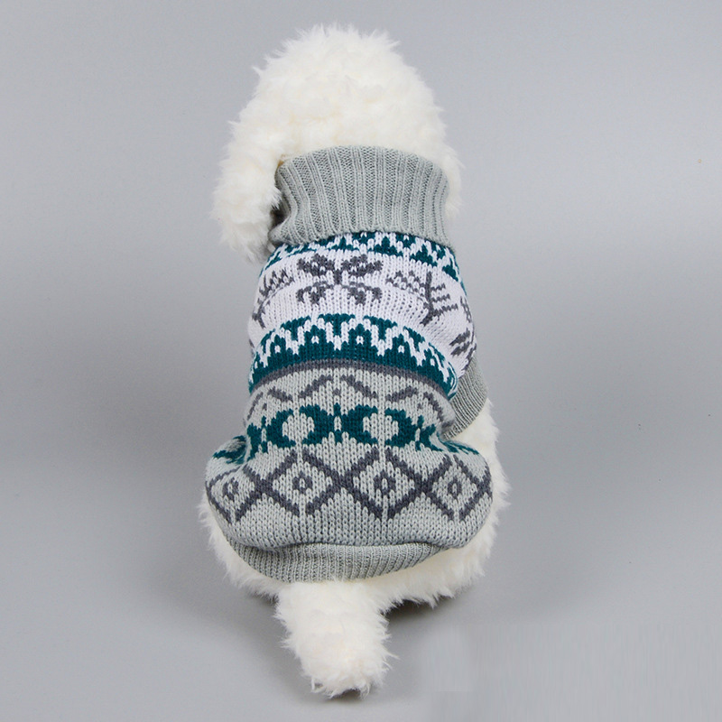 Dog sweater for autumn winter warm knitting crochet clothes for dog chihuahua dachsh Classic dog clothes for small dogs in Dog Coats Jackets from Home Garden